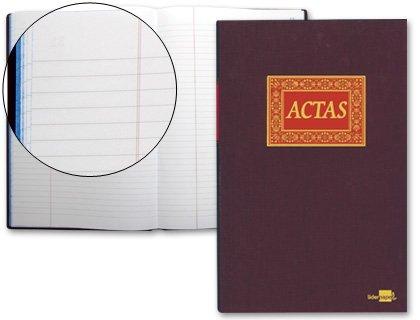 Libro actas liderpapel folio 100 h.
