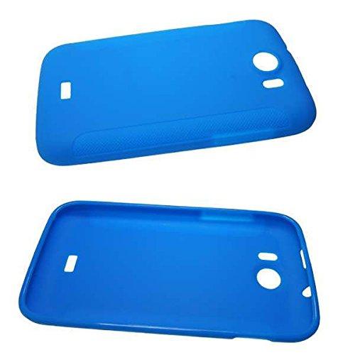 caseroxx TPU-Hülle für Mobistel Cynus T2, Tasche (TPU-Hülle in blau)