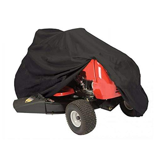 DONGZHI Césped Cortacésped Cubrir Impermeable Tractor Cubiertas Al Aire Libre Jardín Mueble Sombra Cubiertas Protector Solar Anti Lluvia Protector (Color : A, Size : 183x137x117cm)
