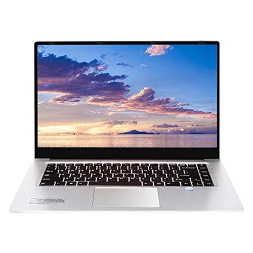 Il computer portatile HPC156 Ultrabook, 15.6 pollici, 2 GB + 32 GB, Windows 10 Intel X5-Z8350 Quad Core Fino a 1.92Ghz, supporto WiFi etc, US/EU (Color : Silver)