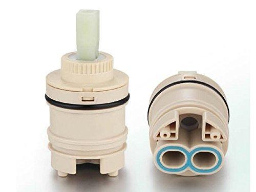 Ownace 35 mm/40 mm, in plastica con disco in ceramica da bagno con miscelatore monocomando a leva per doccia, con cartuccia, Ceramica, 35 mm