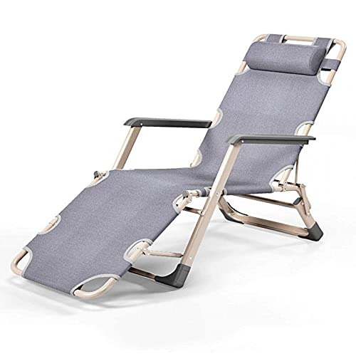 N\C Sillones reclinables Zero Gravity - Tumbonas reclinables al Aire Libre - Sillas relajantes para Patio, terraza, Jardines, Camping, Rojo