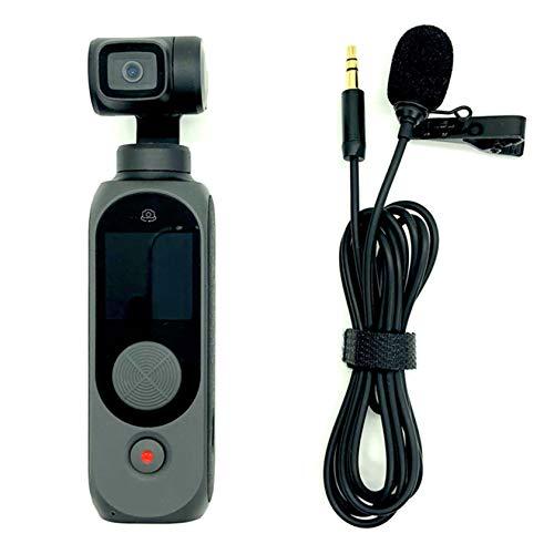 Hensych 3.5mm Kraag Microfoon Opname Mic USB Microfoon met Clip 1.5 M Lijn voor Fimi Palm 2