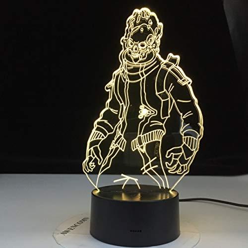 hqhqhq Season 10 Eternal Voyager Lámpara de ilusión 3D Battle Royale Decoración Luces de Noche Cumpleaños Estancia en casa Regalos Drop 111