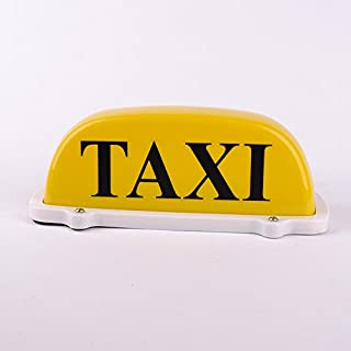 12v Waterproof Taxi car Cab Top yellow Lamp Magnetic Car Vehicle Indicator Lights with 3m power cords