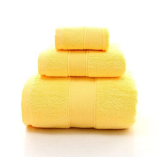 ShSnnwrl Bale Hand Towels Wash Toalla de baño de algodón 100% Hotel para baño Toallas faciales absorbentes Adultos Suave Grueso