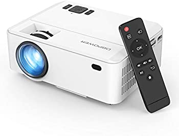 DBPower RD820 FHD 1080p 3500 Lux Mini Portable Projector