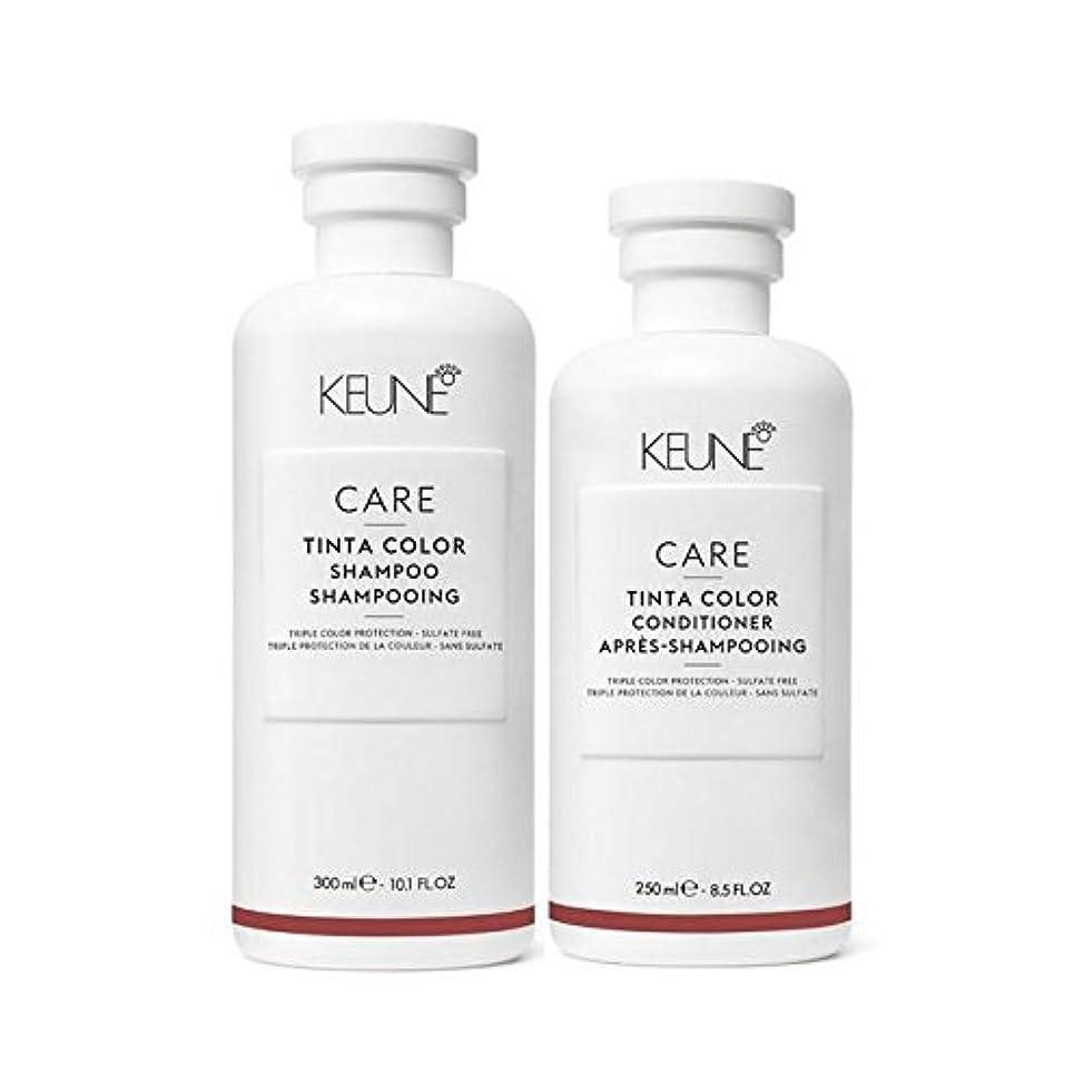 Keune Care Tinta Color Shampoo 10.1 fl oz and Conditioner 8.5 fl oz Duo