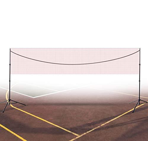 good Tragbares Badminton-Netz-Set, Tennis-Volleyball-Netz, HöHenverstellbar, Kinder-Volleyball FüR Den Garten Schulgarten Hinterhof 3.1m / 4.1m / 5.1m * 1.55m