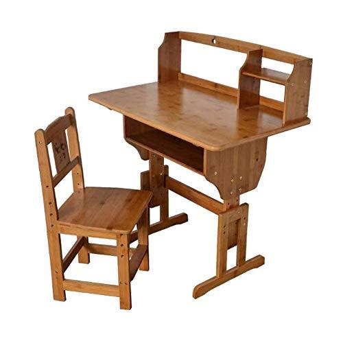N/Z Tägliche Ausrüstung Tisch Stuhl Set Computer Schreibtisch Höhe Verstellbar mit Schublade Schreiben Studie Home 1 Tisch + 1 Stuhl 80 * 50cm
