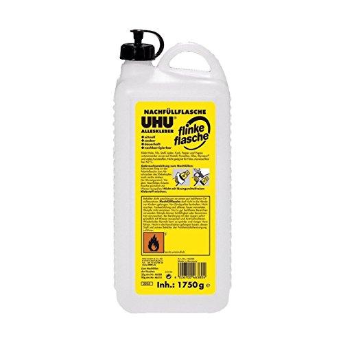 Uhu 46380 - Nachfüllflasche für Alleskleber Flinke Flasche, 1750 g