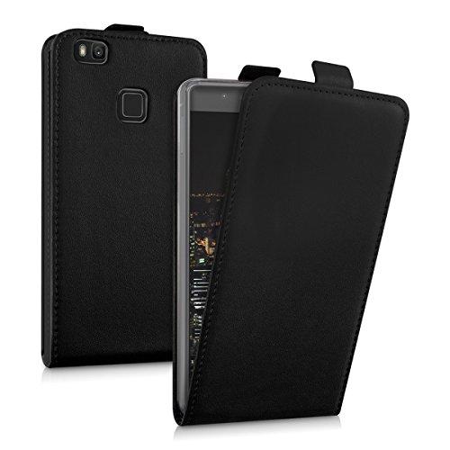 kwmobile Huawei P9 Lite Cover - Custodia Flip Verticale in Simil Pelle - con Linguetta calamita per Huawei P9 Lite