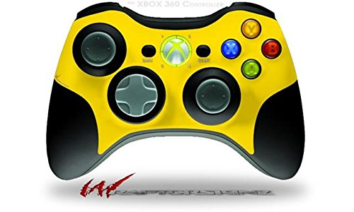XBOX 360 Wireless Controller Decal Style Skin - Solids Collection Yellow (CONTROLLER NOT INCLUDED)