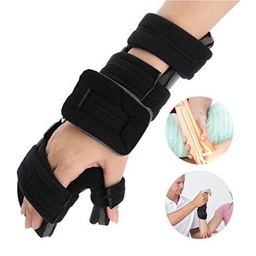 Handgelenkschiene für Lindert Handgelenkschmerz, Einstellbar Handgelenkstütze Handgelenkbandage zur Handstabilisierung, Karpaltunnel Handgelenkorthese zur Fixierung und Korrektur(S-Recht)
