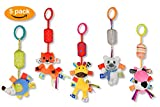 Joyelle Stroller Pushchair Pram Toys, Baby Hanging Toys, Car Seat & Cot Toys, Baby Rattle, Newborn baby toys 0-6 12 months