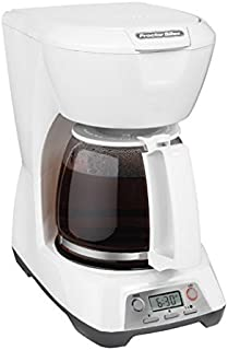 Proctor Silex 43671 12 Cup Programmable Coffeemaker (White)