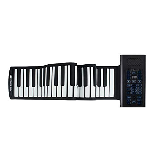 Amazing Deal LVSSY-Portable 88 Keys Roll Up Piano Bluetooth MIDI Electronic Piano Portable Multifunc...