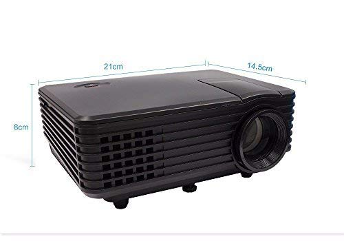 PLAY™ 2000 Lumen Projector Portable HD, TV, LED, 1080P Built – 1 Year Warranty with Customer Service