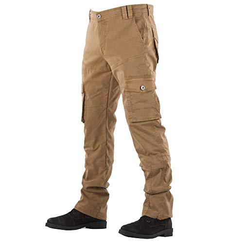 Overlap Carpenter Vintage Camel Jeans heren, beige, 32