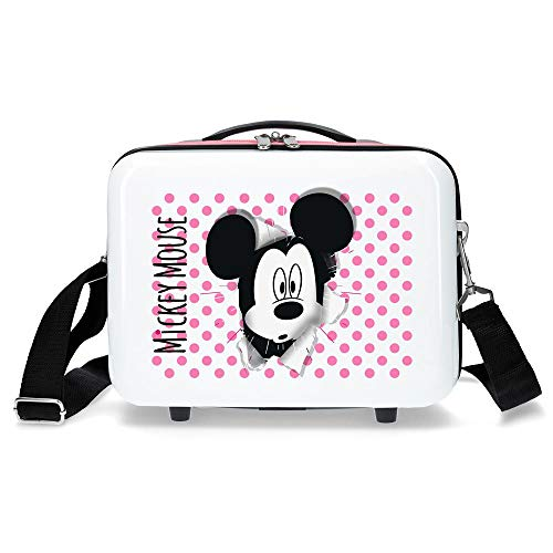 Disney Have a good day Mickey Trousse de toilette adaptable Multicolore 29x21x15 cms ABS