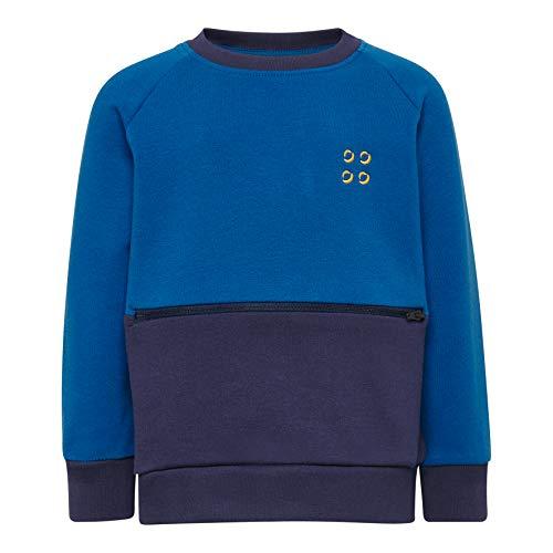 Lego Wear Baby-Jungen LWSIRIUS 652-SWEATSHIRT Sweatshirt, Blau (Blue 553), (Herstellergröße: 86)