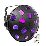beamz Remote LED DJ Party Multi-Colour Disco Lighting SOUND to LIGHT MUSHROOM 2