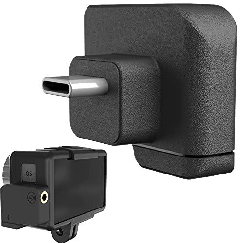 Prodrocam Osmo Action - Adaptador de micrófono para DJI Osmo Action (3,5 mm macho a doble salida, jack tipo C, USB macho y hembra), adaptador de micrófono externo