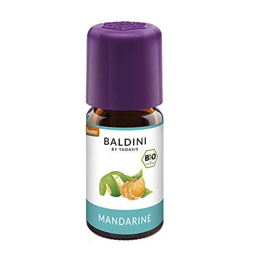 Baldini - Mandarine BIO,100{8be8f1e19159037713f1e8b49d1bbff32748b0808a77bf75c285b4946ef67bc3} naturreines ätherisches BIO Mandarinen Öl fein, 5 ml