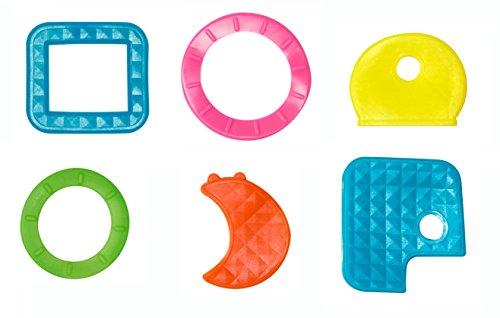 Schlüsselkennzeichnung / Sortimentauswahl für gängige Schlüssel (30 Stück) unterschiedlicher Art - farbig sortiert (Leuchtfarben)