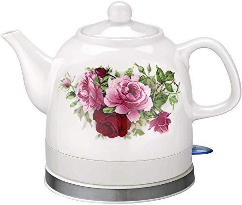Bouilloires électriques en céramique Bouilloire sans fil Teapot-Retro 1.2L Jug, 1200W eau rapide for thé rapide (Couleur: B) 8bayfa (Color : C)