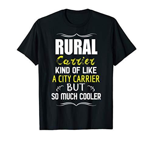 Funny Rural Carrier Postman Mailman Postal Worker Gift T-Shirt