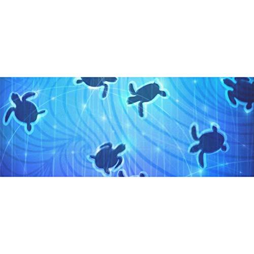 Geschenkpapier Schwimmen Baby Turtles Sommer natürlichen Hintergrundpapier für Geburtstag, Urlaub, Hochzeit Geschenkverpackung 58