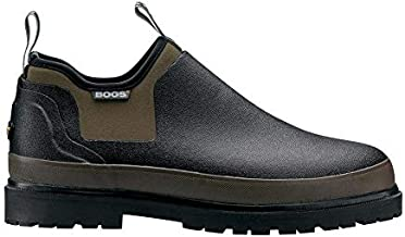 Bogs Men's Tillamook Bay Waterproof Slip On & Drying Towel Bundle