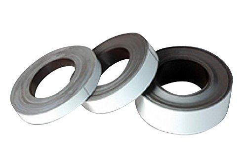 Magnetisches Beschriftungsband PERMAFLEX® 5014 weiß, 40 mm breit, 15 Meter, versandkostenfrei innerhalb DE