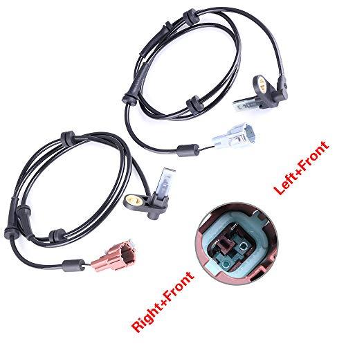cciyu Speed Sensor, 2 pcs Rear Left Right ALS638 ALS639 ABS sensors Fit for 2004 2005 2006 2007 2008 2009 2010 2011 Nissan Titan