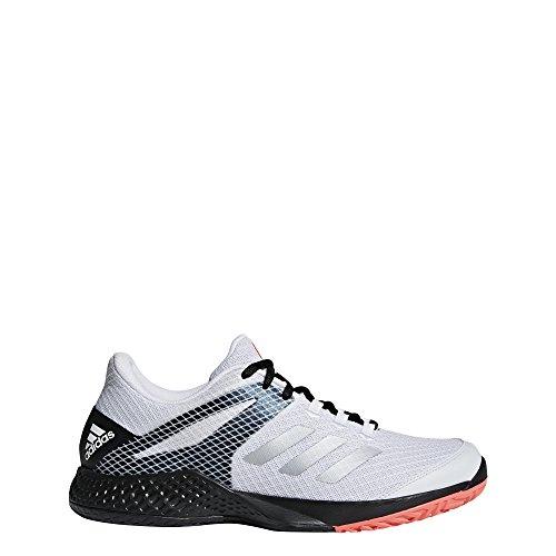 adidas Adizero Club 2 White/Matte Silver/Black 12.5