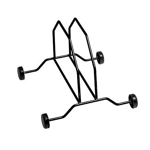 MV-TEK Reggiciclo Singolo a rotelle in Ferro Wheel Kickstand Single Iron