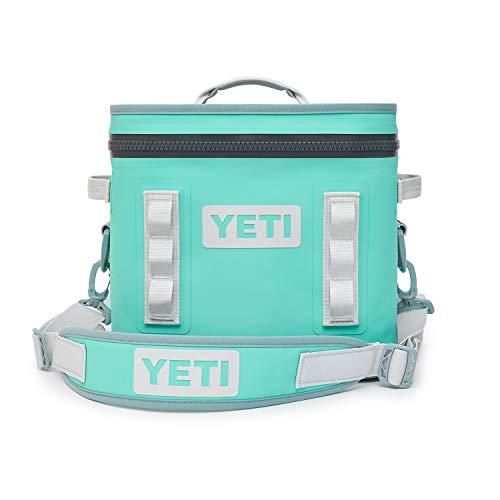 YETI Hopper Flip 12 Portable Cooler, Aquifer Blue