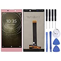 QIAOMEL LCD Screen and Digitizer Full Assembly, Repair Part Replacement for Sony Xperia L2 (Color : Rose Gold)