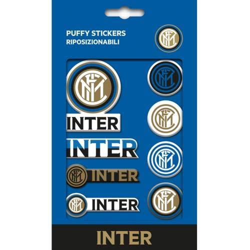 Inter Milan Inter Mailand Bubble Sticker Aufkleber Set