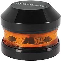 SUMEX BALIZA1 SOSTRAFIC-Baliza LED Luminosa Magnética de Emergencia Recargable HOMOLOGADA Alta Visibilidad Desde 2Km....