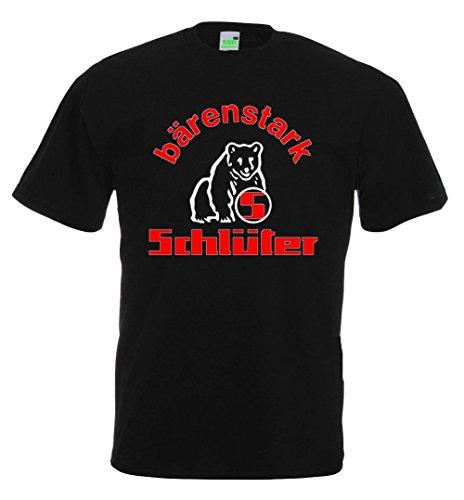 Schlüter T-Shirt, schwarz, Größe 3XL