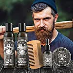 Ultimate Beard Care Conditioner Kit - Beard Grooming Kit for Men Softens, Smoothes and Soothes Beard Itch- Contains… 6