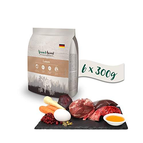 Venandi Animal Premium Trockenfutter für Katzen, Lamm 6 x 0.3 kg, getreidefrei mit...