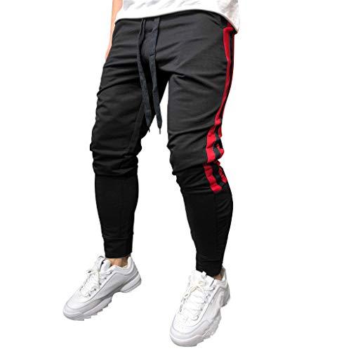 Sumeiwilly Herren Designer Chino Stoff Hose Chinohose Regular Fit Herrenhose Funktionshose Fitness Stretch Jogging Hose, M-XXL