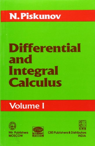 Differential and Integral Calculus: v. 1