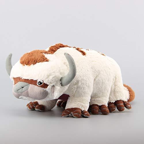 xuritaotao Deluxe Avatar Last Airbender Appa Plüschtier Weiche Juguetes Kuscheltiere Vieh Puppe Kinderspielzeug 18Inches 45 cm