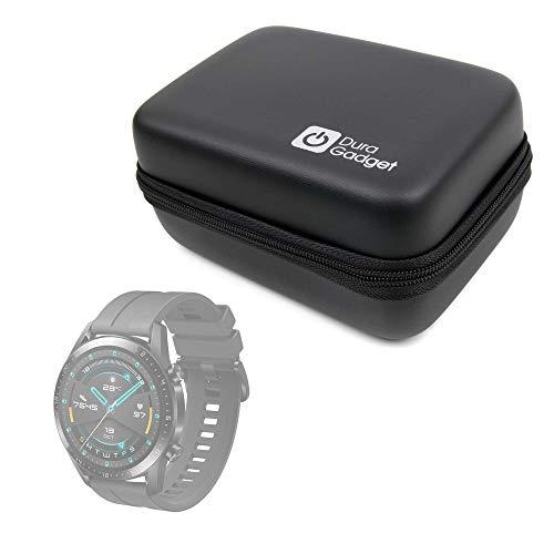DURAGADGET Funda Rígida Compatible con Smartwatch Huawei Watch GT 2 Sport, Garmin Fenix ??6S Pro, Emporio Armani ART5007 + Mini Mosquetón