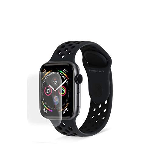 Eono Panzerfolie geeignet für Apple Watch SE / 6/5 / 4 (44mm) - [2er Pack] - Auto-Heal-Funktion, Blasenfrei, Kratzfest, Wasserfest