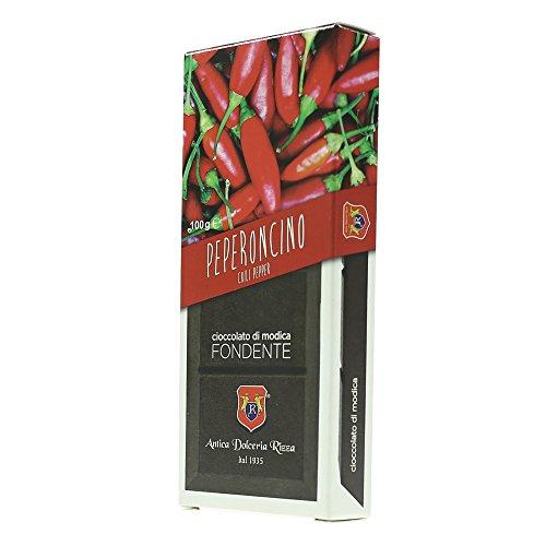 Cioccolato Antica Dolceria Rizza Modica - Cioccolato modicano I.G.P. al Peperoncino